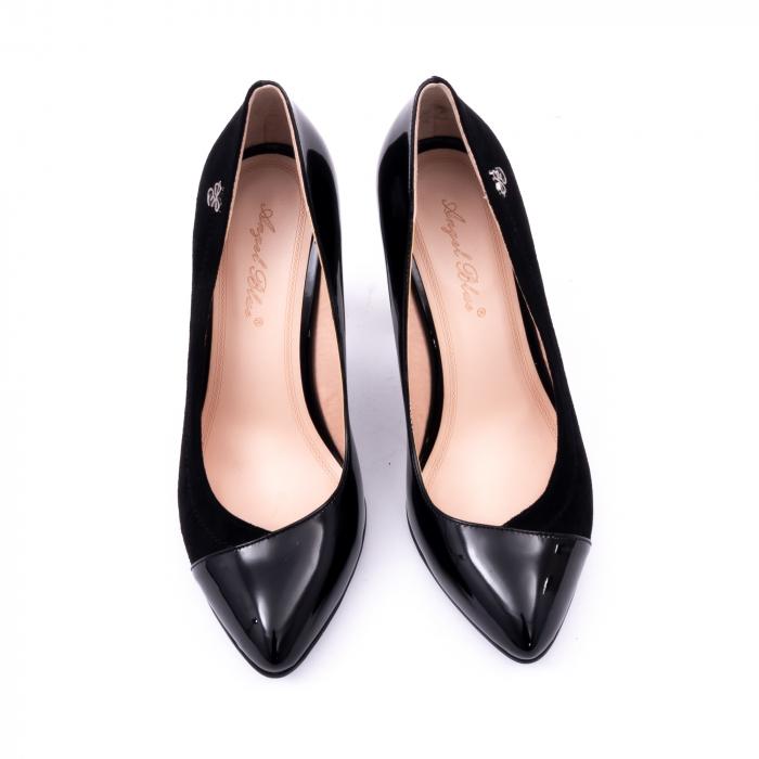 Pantofi eleganti dama 6042 negru 5