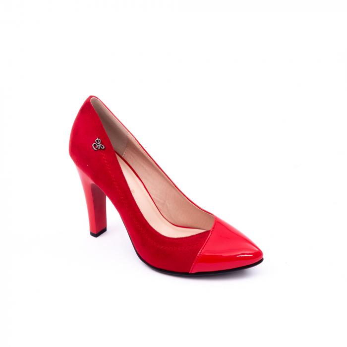 Pantofi eleganti dama 6042 rosu 0