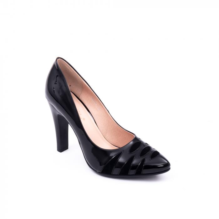Pantofi eleganti dama 6045 negru 0