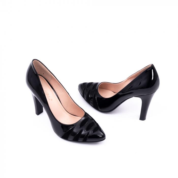 Pantofi eleganti dama 6045 negru 3
