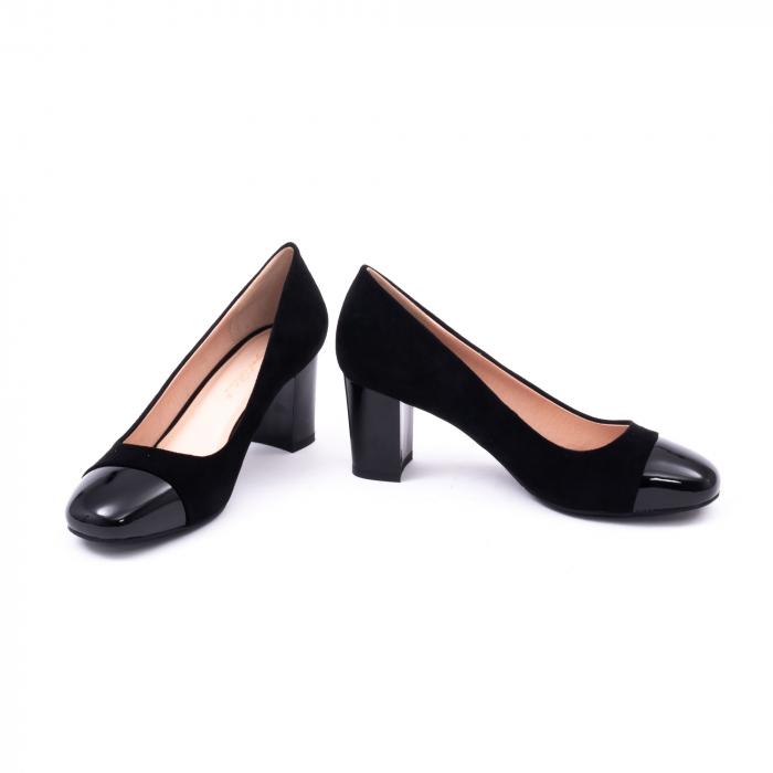 Pantofi eleganti dama 6046 negru 4
