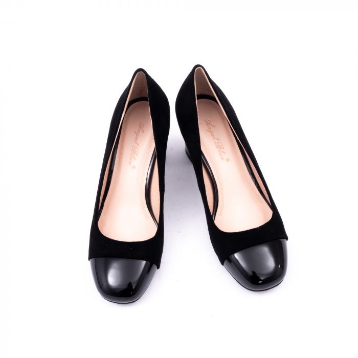 Pantofi eleganti dama 6046 negru 5