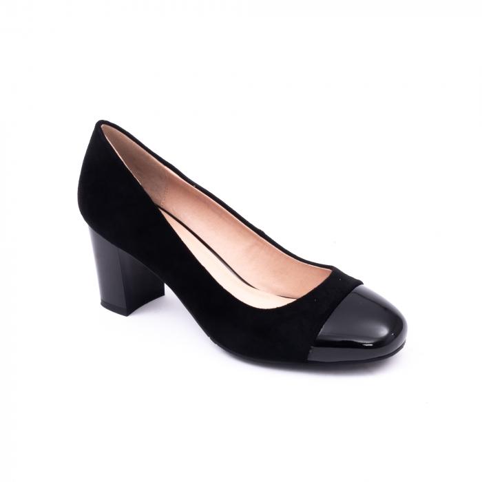 Pantofi eleganti dama 6046 negru 0