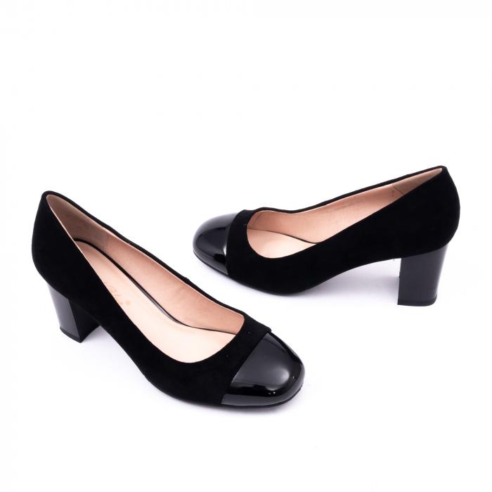 Pantofi eleganti dama 6046 negru 2