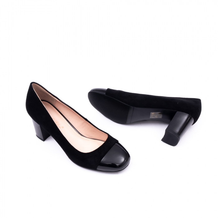 Pantofi eleganti dama 6046 negru 3