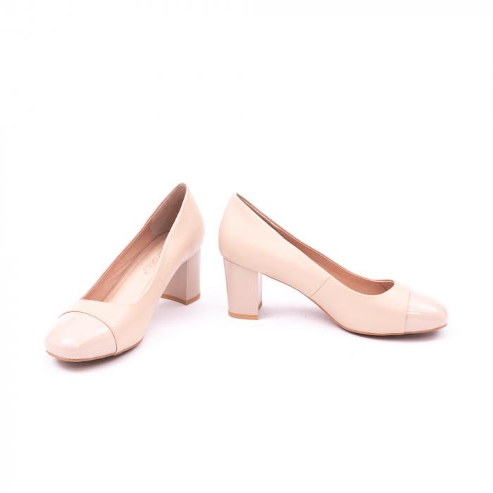 Pantofi eleganti dama 6046 nude 5