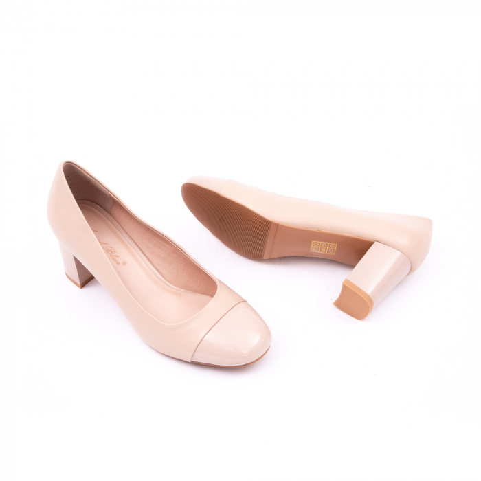 Pantofi eleganti dama 6046 nude 4