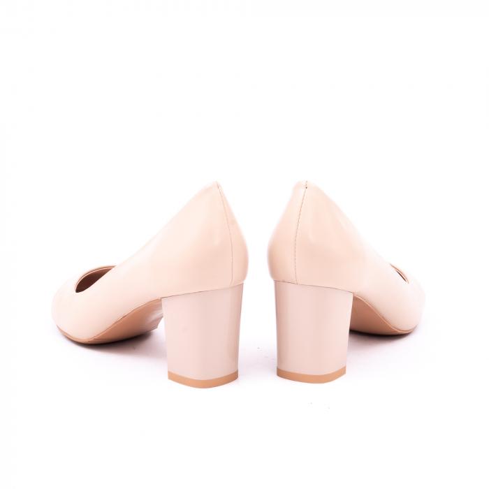 Pantofi eleganti dama 6046 nude 7