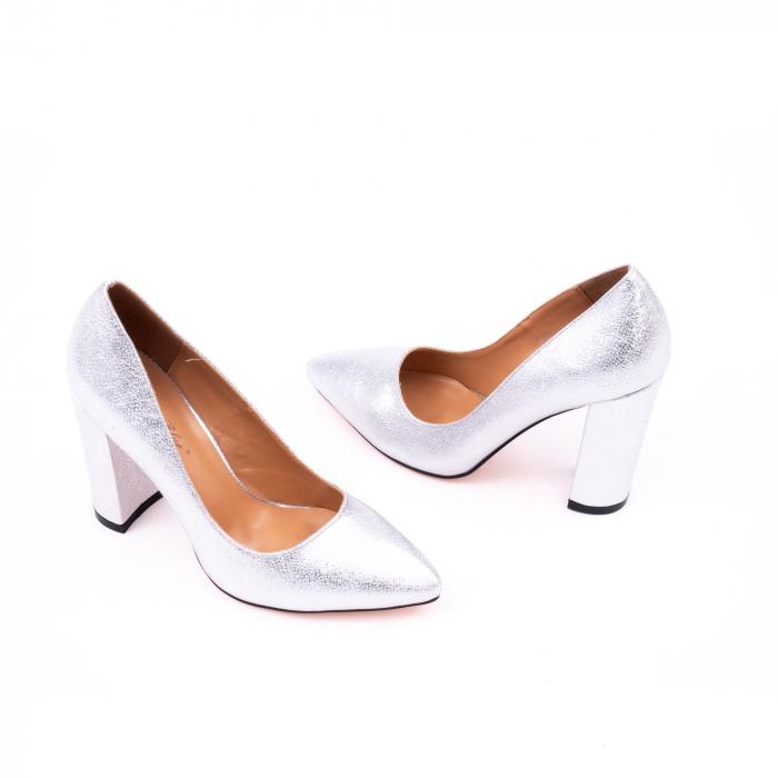 Pantofi eleganti dama 946 argintiu [2]