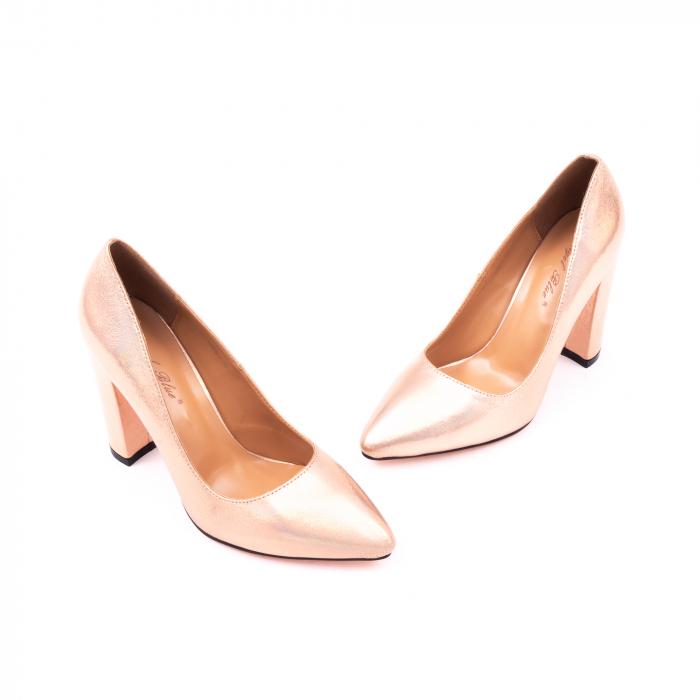 Pantofi eleganti dama 946 auriu 3