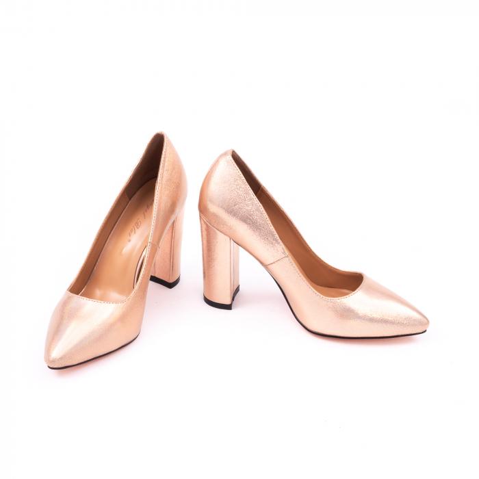 Pantofi eleganti dama 946 auriu 4