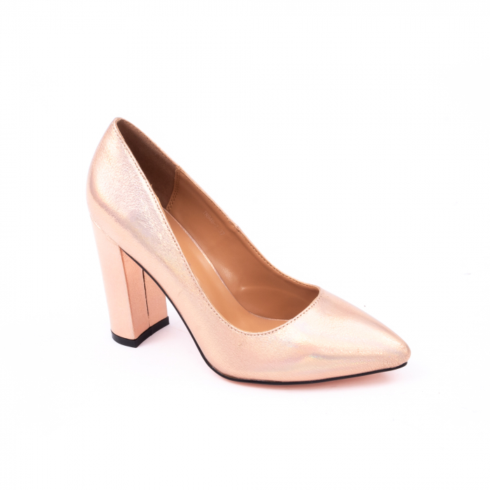 Pantofi eleganti dama 946 auriu 0