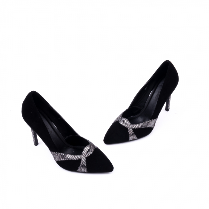 Pantofi eleganti dama 9511 negru. 1