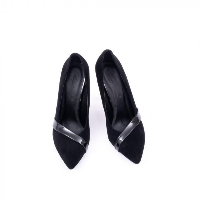 Pantofi eleganti dama 9516 negru 5