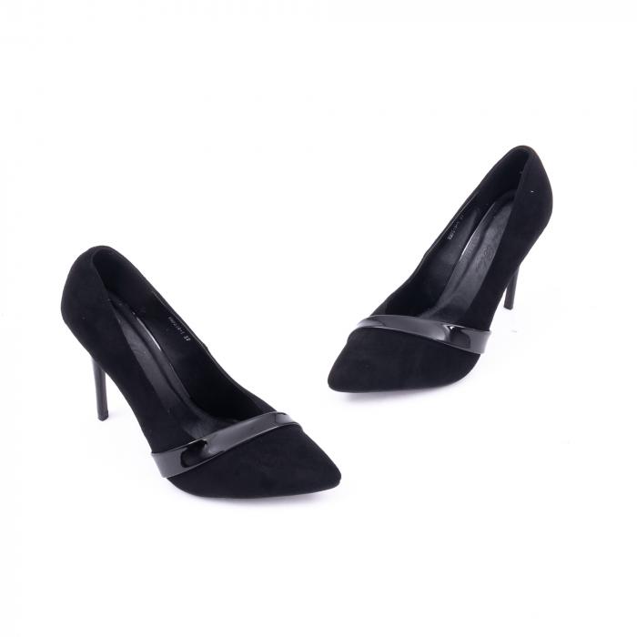 Pantofi eleganti dama 9516 negru 1