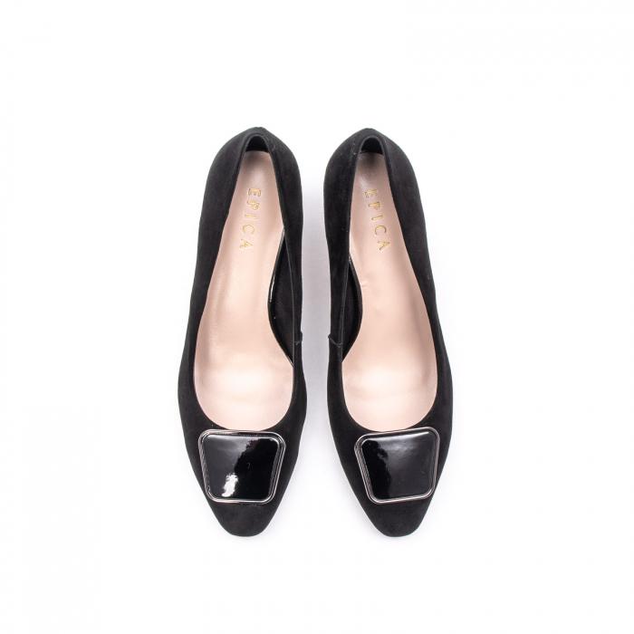 Pantofi dama eleganti din piele naturala, JIXQ675-MX847 5