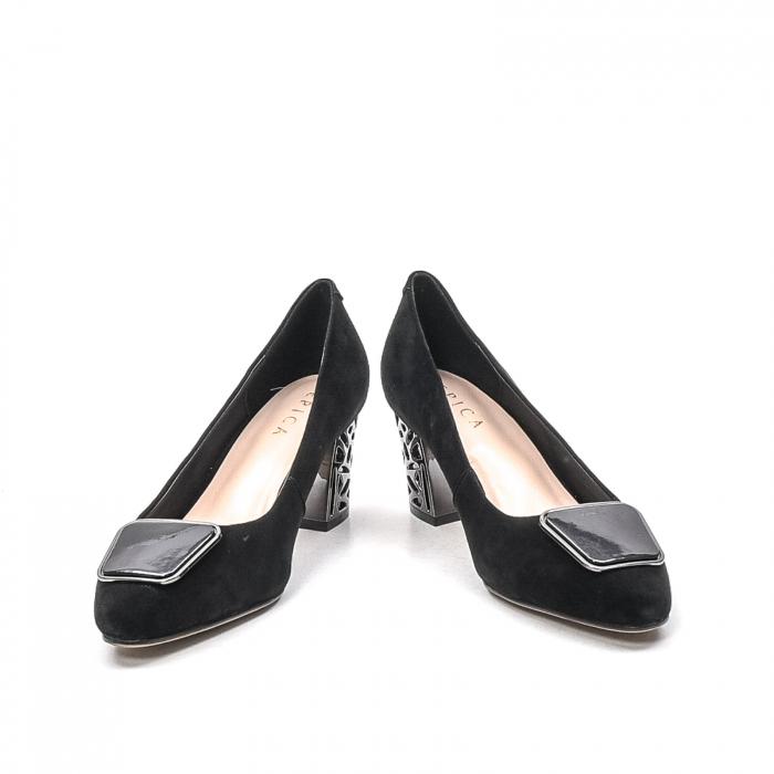 Pantofi dama eleganti din piele naturala, JIXQ675-MX847 4