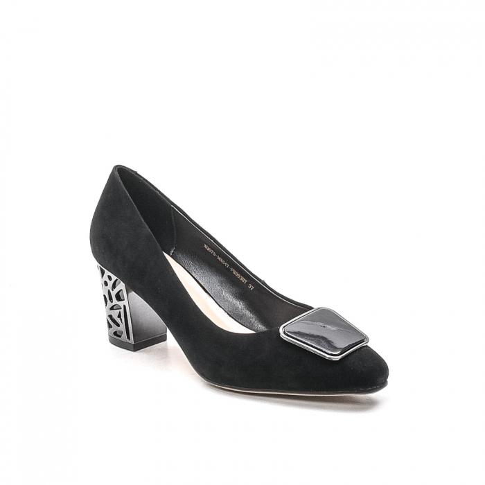 Pantofi dama eleganti din piele naturala, JIXQ675-MX847 0