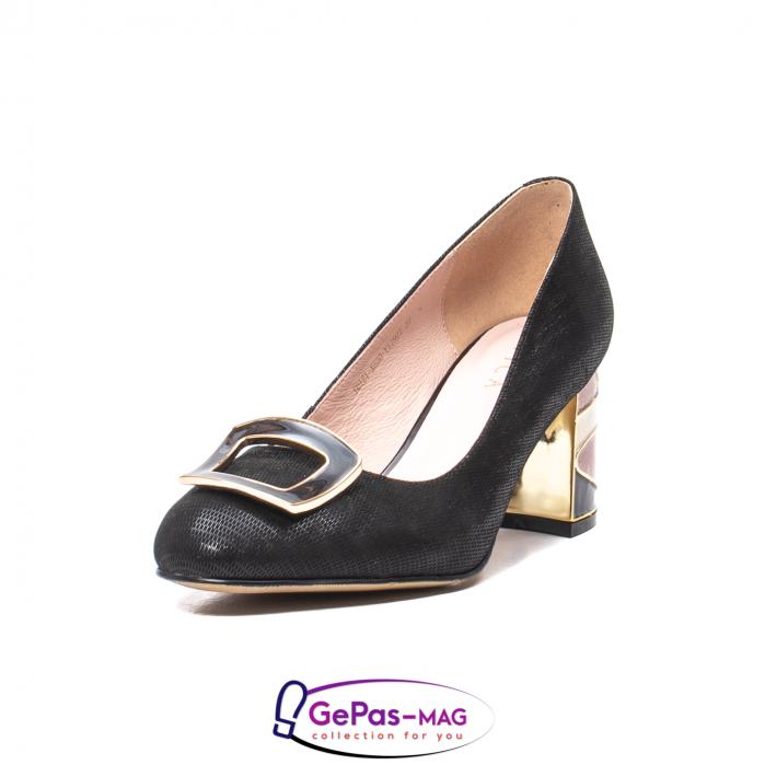 Pantofi eleganti dama, piele naturala, JIX530 0