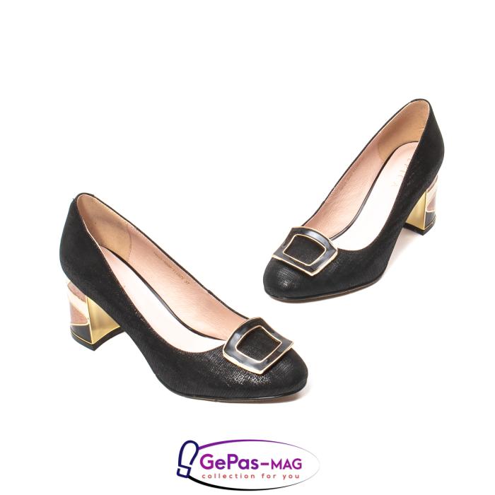 Pantofi eleganti dama, piele naturala, JIX530 1