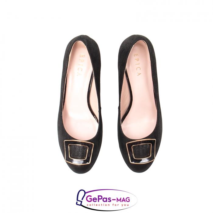 Pantofi eleganti dama, piele naturala, JIX530 5
