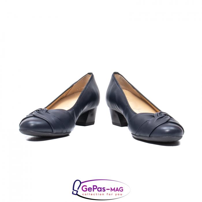 Pantofi eleganti dama, piele naturala, 12-35811 Bleumarin 4