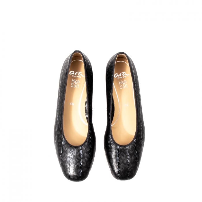 Pantofi eleganti dama, piele naturala lacuita, AR11838 5
