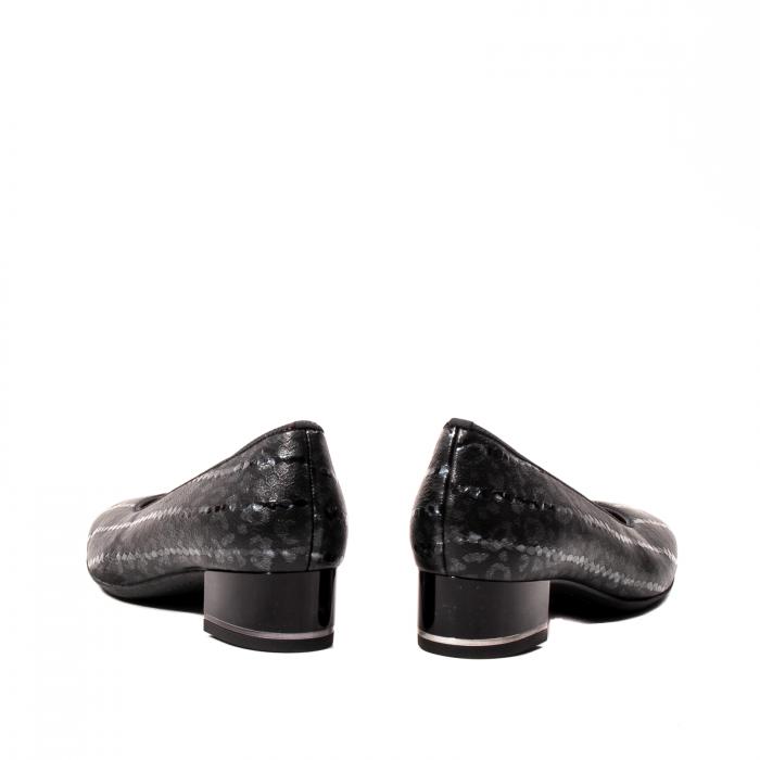 Pantofi eleganti dama, piele naturala lacuita, AR11838 6