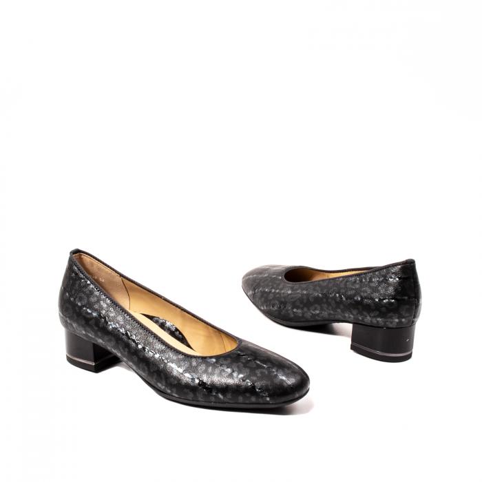Pantofi eleganti dama, piele naturala lacuita, AR11838 2