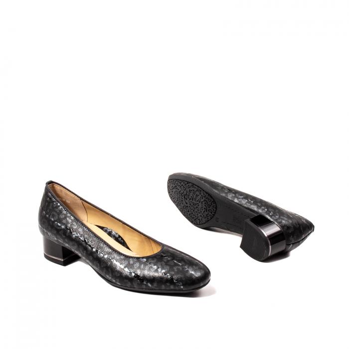 Pantofi eleganti dama, piele naturala lacuita, AR11838 3