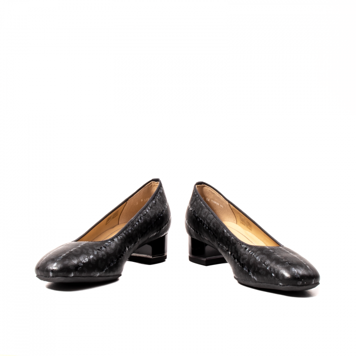 Pantofi eleganti dama, piele naturala lacuita, AR11838 4