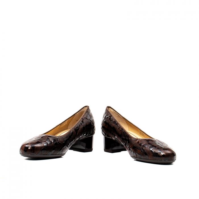 Pantofi eleganti dama, piele naturala lacuita, AR16601 M 4