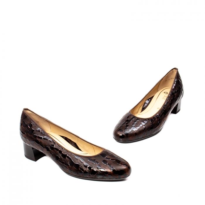 Pantofi eleganti dama, piele naturala lacuita, AR16601 M 1