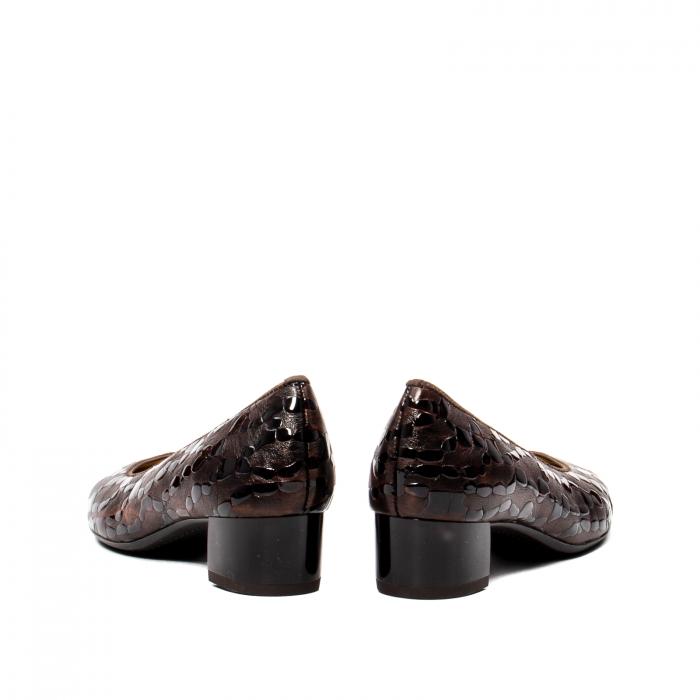 Pantofi eleganti dama, piele naturala lacuita, AR16601 M 6