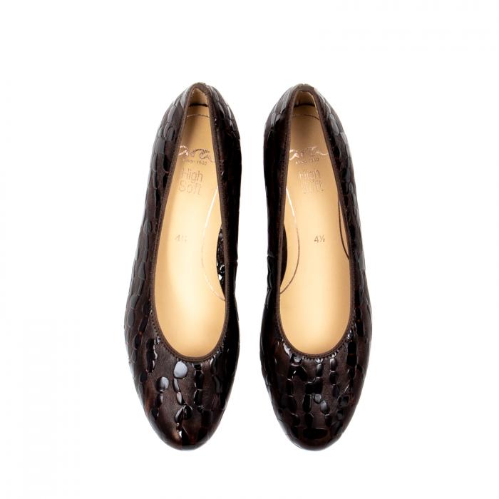 Pantofi eleganti dama, piele naturala lacuita, AR16601 M 5