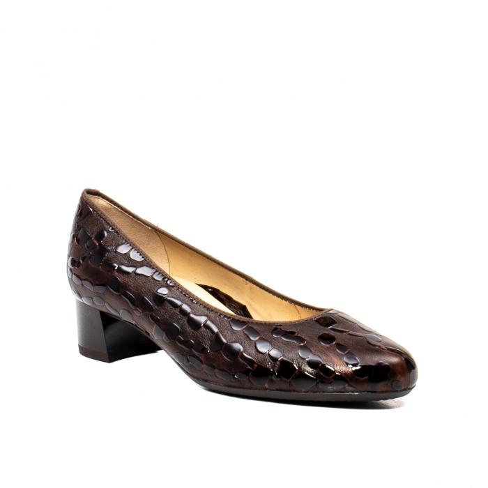 Pantofi eleganti dama, piele naturala lacuita, AR16601 M 0