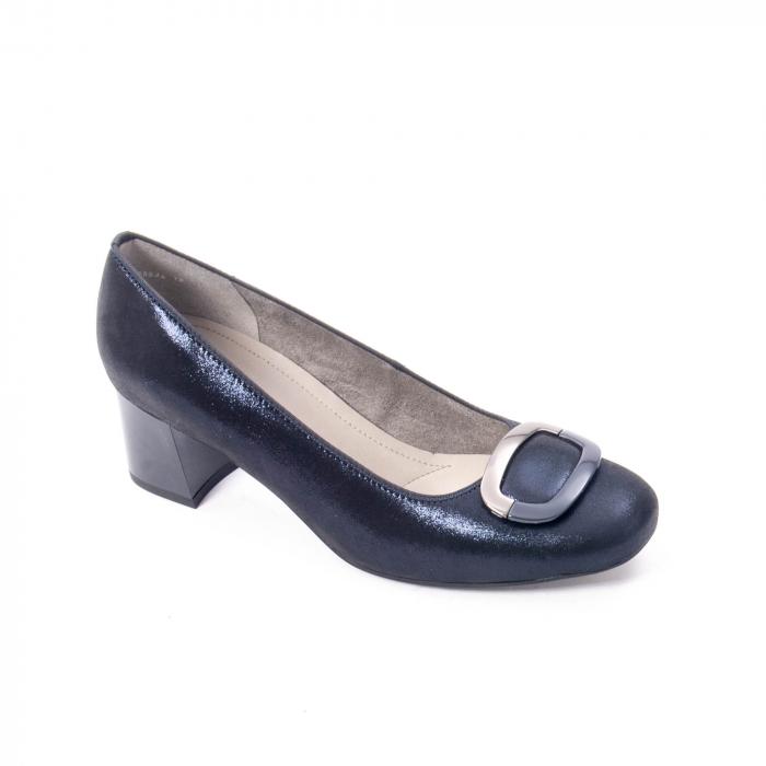 Pantofi eleganti dama, piele naturala Ara 12-35534, bleumarin 0
