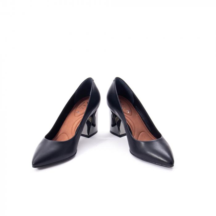 Pantofi eleganti dama, piele naturala,Epica 9288 negru 1