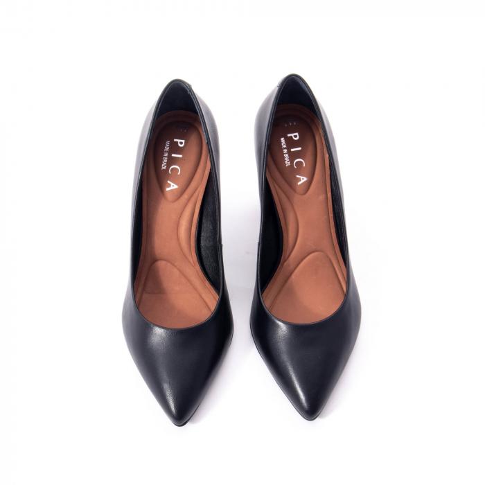 Pantofi eleganti dama, piele naturala,Epica 9288 negru 3