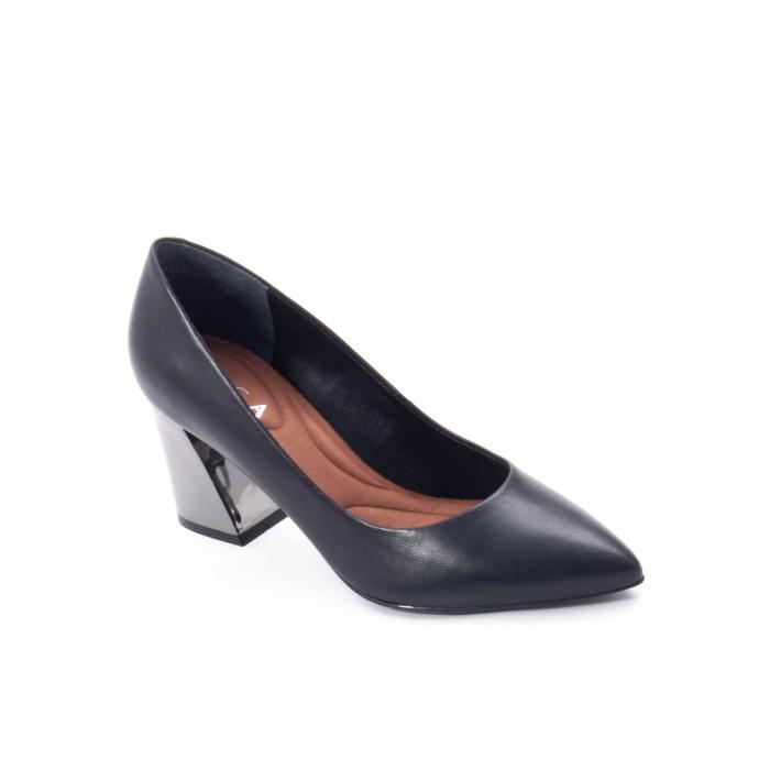Pantofi eleganti dama, piele naturala,Epica 9288 negru 0