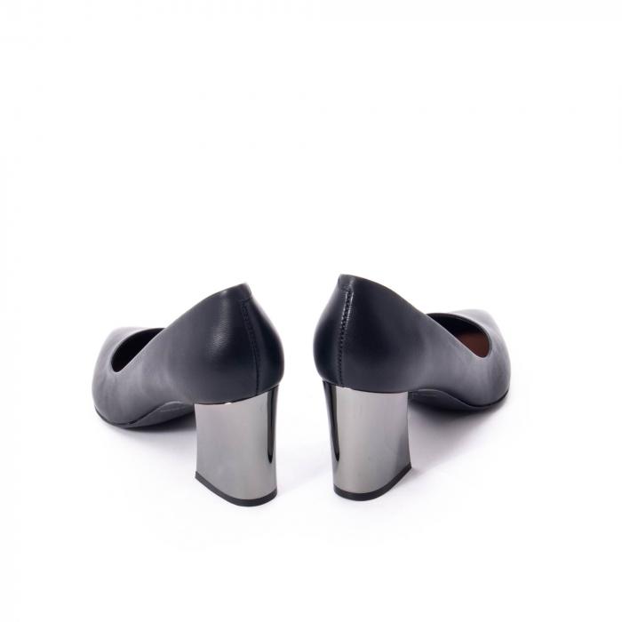 Pantofi eleganti dama, piele naturala,Epica 9288 negru 5