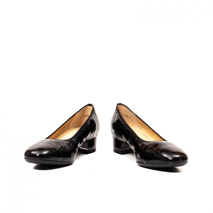 Pantofi eleganti dama, piele naturala lacuita croco, AR11838 26H 4