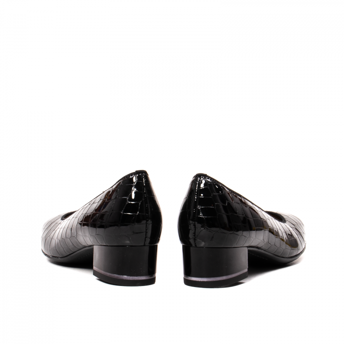 Pantofi eleganti dama, piele naturala lacuita croco, AR11838 26H 6