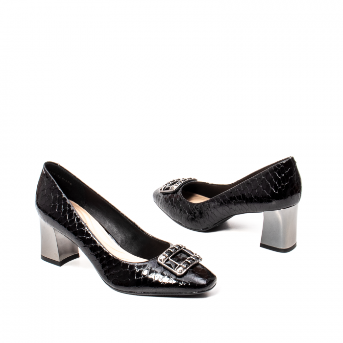 Pantofi eleganti dama, piele naturala lacuita, OE2109 [2]