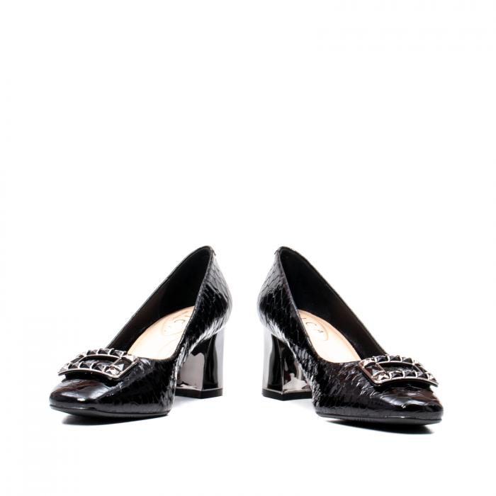 Pantofi eleganti dama, piele naturala lacuita, OE2109 [4]