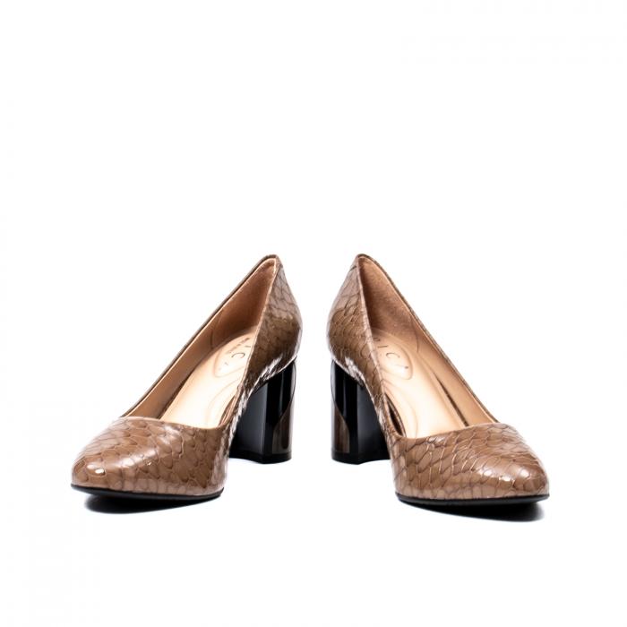 Pantofi eleganti dama, piele naturala lacuita, OE8826 4