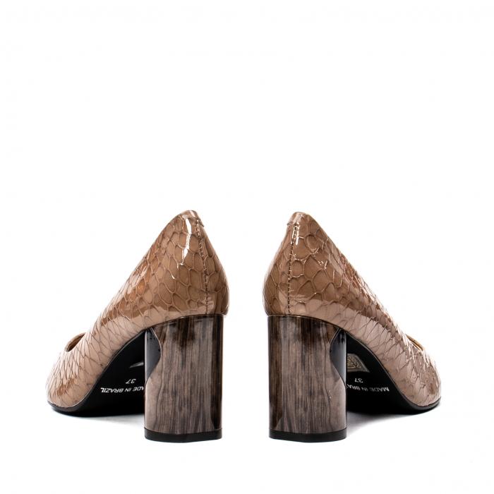 Pantofi eleganti dama, piele naturala lacuita, OE8826 6