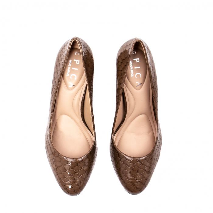 Pantofi eleganti dama, piele naturala lacuita, OE8826 5