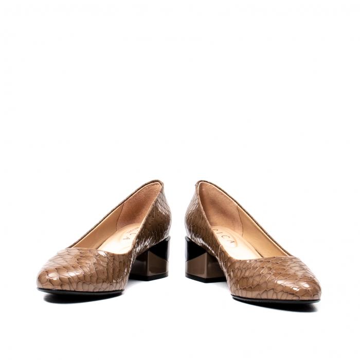 Pantofi eleganti dama, piele naturala, OE9825 4