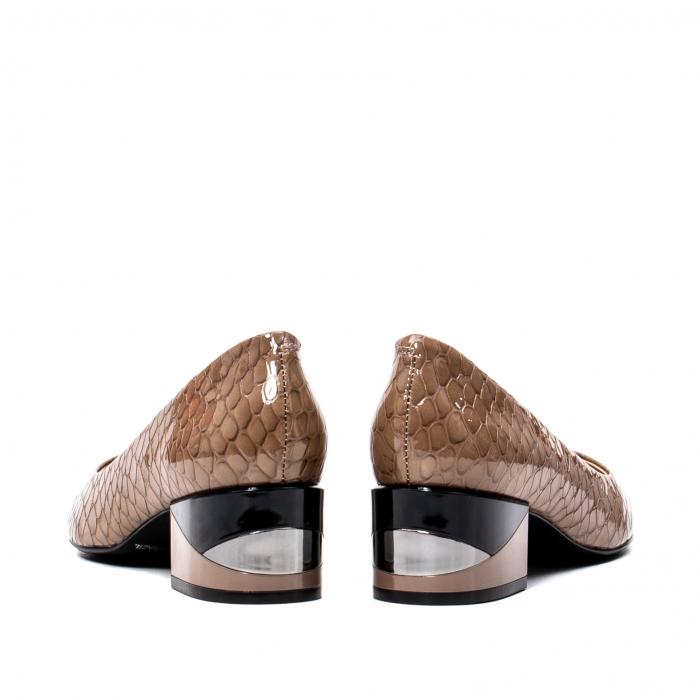 Pantofi eleganti dama, piele naturala, OE9825 6